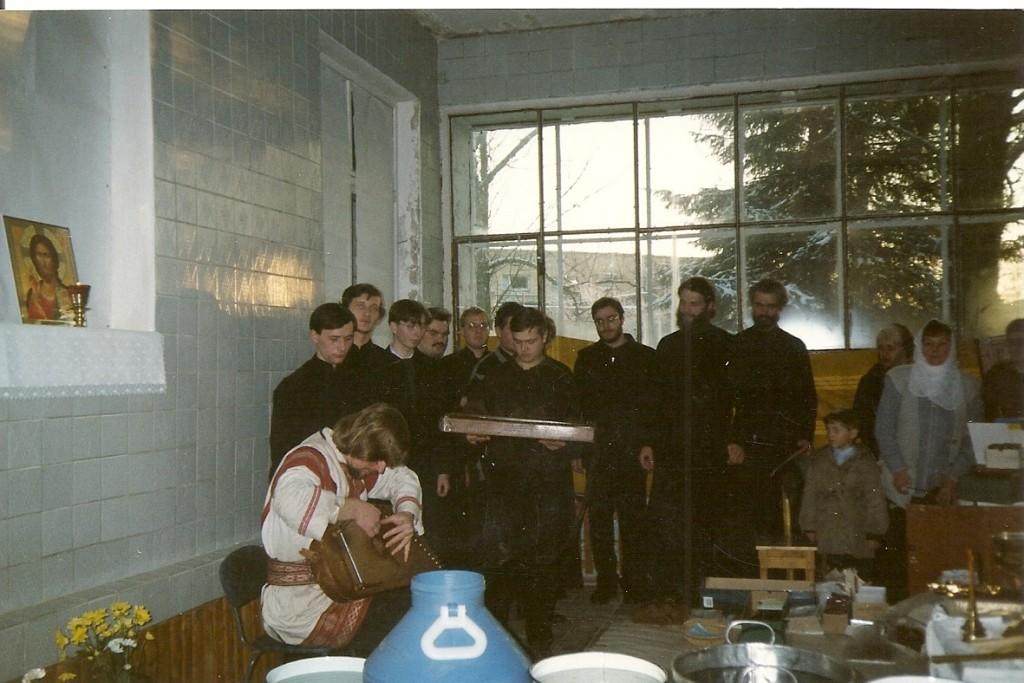 гости из Лавры 26.11.2000