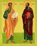 Апостолы Варфаломей и Варнава